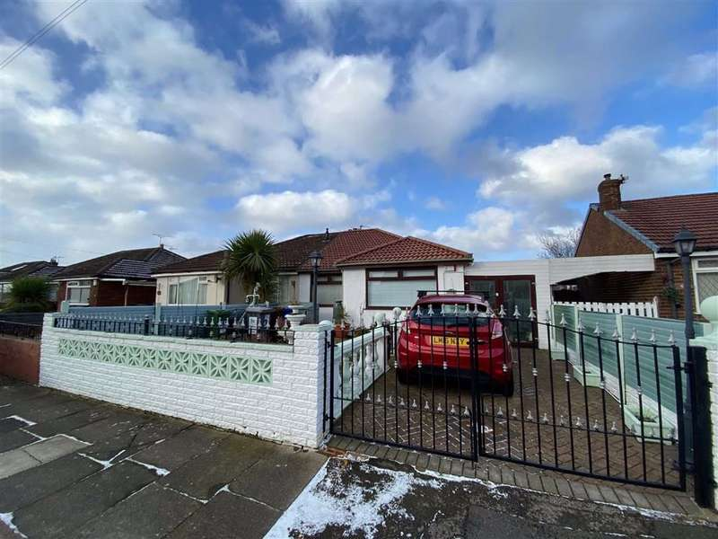 2 Bedrooms Semi Detached Bungalow for sale in Mansfield Avenue, Denton, Manchester