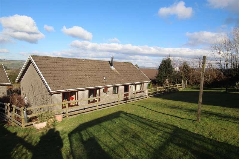 4 Bedrooms Detached Bungalow for sale in Gorlan, Llanllwni, Pencader