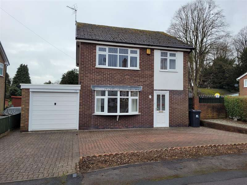3 Bedrooms Detached House for sale in Mundys Drive, Heanor