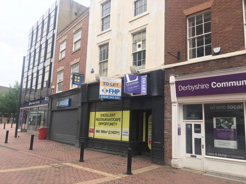 Commercial Property for rent in Cornmarket, Derby