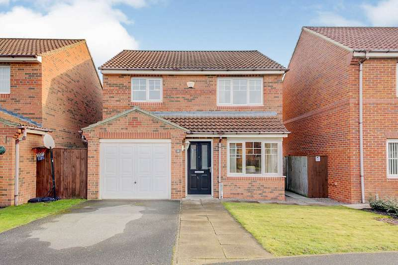3 Bedrooms Detached House for sale in Housesteads Close, Wallsend, Tyne and Wear, NE28