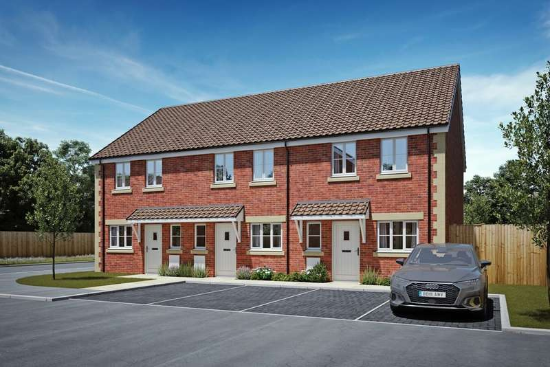 2 Bedrooms End Of Terrace House for sale in Merrets Court, Snarlton Lane