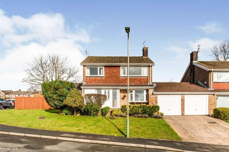 4 Bedrooms Detached House for sale in Bryn Siriol, Ty Isaf, Caerphilly