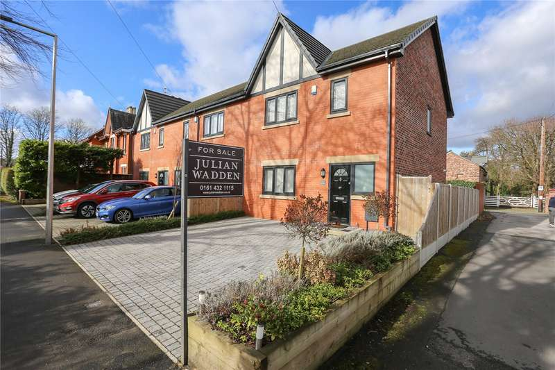 3 Bedrooms Semi Detached House for sale in Whitefield, Heaton Chapel, Stockport, SK4