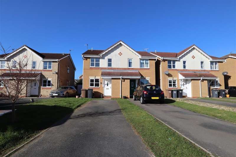 2 Bedrooms Semi Detached House for sale in Akeman Drive, Bracebridge Heath, Lincoln