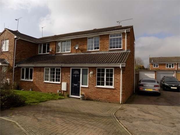3 Bedrooms Semi Detached House for sale in Carina Drive, Leighton Buzzard, Bedfordshire