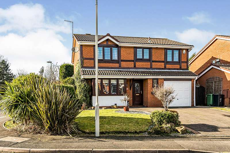 4 Bedrooms Detached House for sale in Montpellier Gardens, Milking Bank, Dudley, West Midlands, DY1