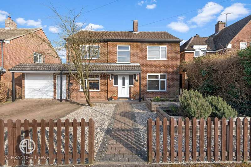 4 Bedrooms Detached House for sale in Newlands, Letchworth Garden City, SG6 2JE