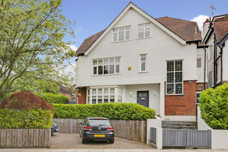 6 Bedrooms Detached House for sale in Burgess Hill, The Hocroft, London, NW2