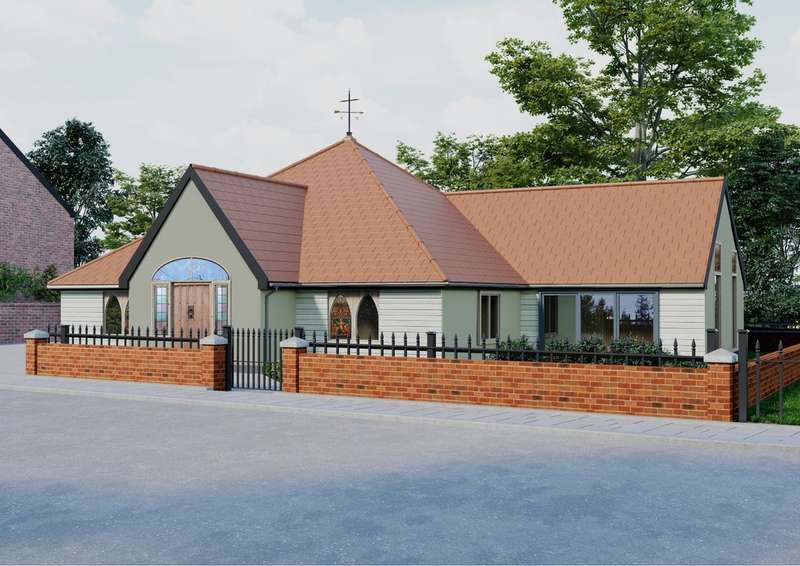 2 Bedrooms Detached Bungalow for sale in Croft Lane, Diss