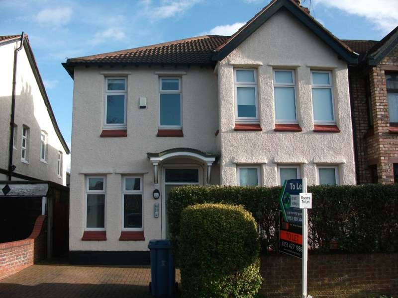 1 Bedroom House Share for rent in Queens Drive, Mossley Hill