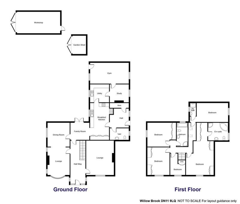 5 Bedrooms Detached House for sale in Galley Hill, Tickhill
