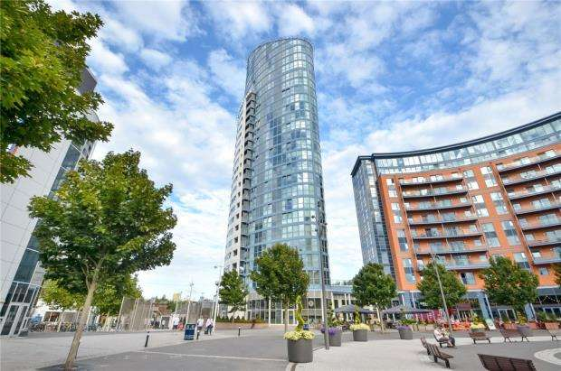 2 Bedrooms Apartment Flat for sale in No.1 Building, Gunwharf Quays