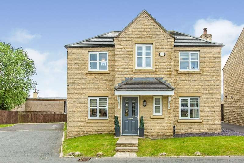 4 Bedrooms Detached House for sale in Spinning Mill Close, Oswaldtwistle, Accrington, Lancashire, BB5