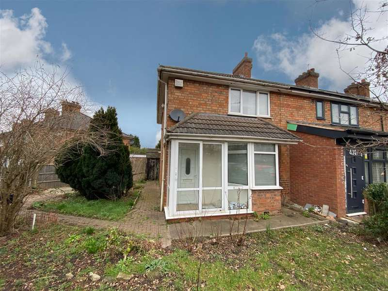 3 Bedrooms End Of Terrace House for sale in Hob Moor Road, Yardley, Birmingham