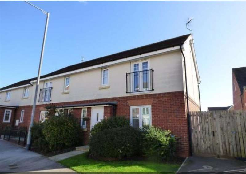 2 Bedrooms Semi Detached House for sale in Ruskin Way, Brough, East Yorkshire, HU15