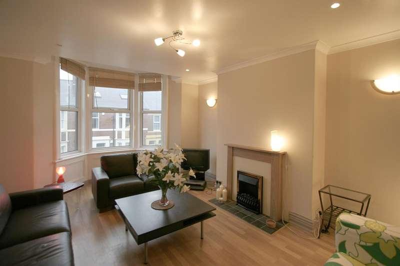 5 Bedrooms Maisonette Flat for rent in Helmsley Road, Sandyford, Newcastle Upon Tyne