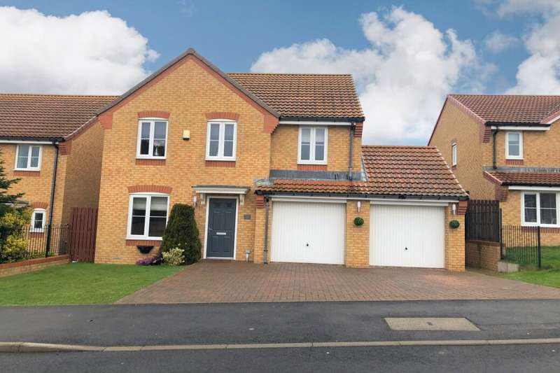 4 Bedrooms Detached House for sale in Newbury Road, Brotton, Saltburn-By-The-Sea, TS12