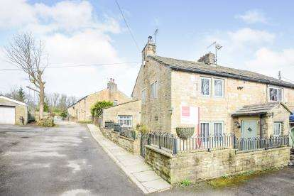 3 Bedrooms Semi Detached House for sale in Holme End, Greenhead Lane, Reedley, Lancashire