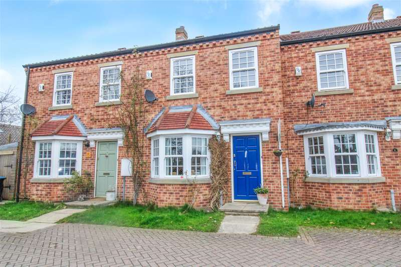 3 Bedrooms Terraced House for sale in Manor House Walk, Burneston, Bedale, DL8 2GA