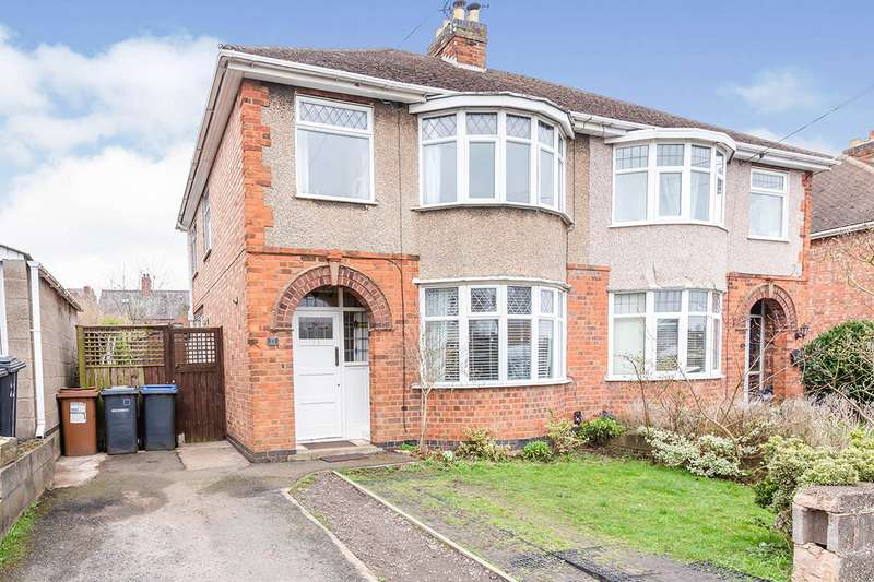 3 Bedrooms Semi Detached House for sale in James Street, Earl Shilton, Leicester, Leicestershire, LE9