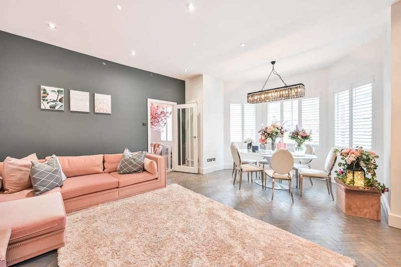3 Bedrooms Maisonette Flat for sale in Mount View Road, Stroud Green, N4