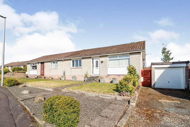 2 Bedrooms Semi Detached Bungalow for sale in Westgate, Leslie, Glenrothes, Fife, KY6