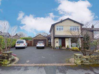 4 Bedrooms Detached House for sale in Frith View, Chapel-En-Le-Frith, High Peak, Derbyshire