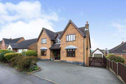 4 Bedrooms Detached House for sale in St. Faiths Drive, Coalville