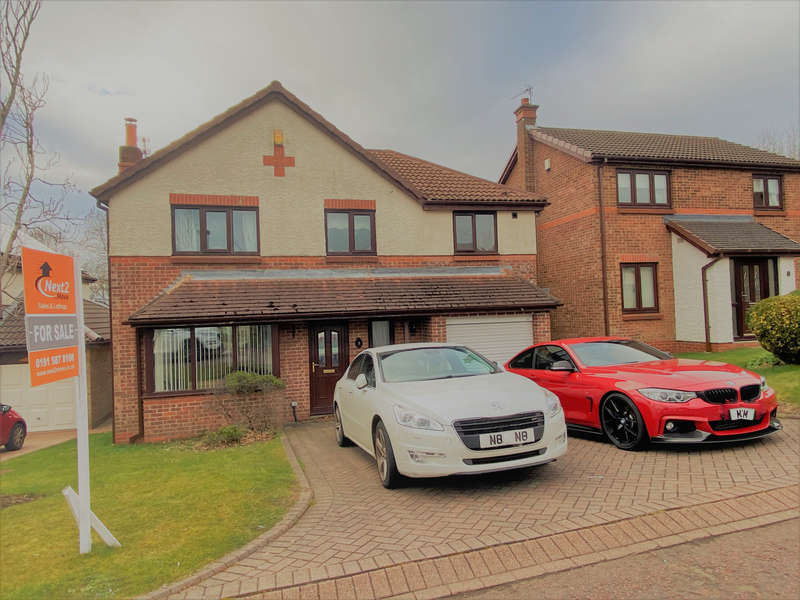 4 Bedrooms Detached House for sale in Lowther Court, Peterlee, SR8 1JJ