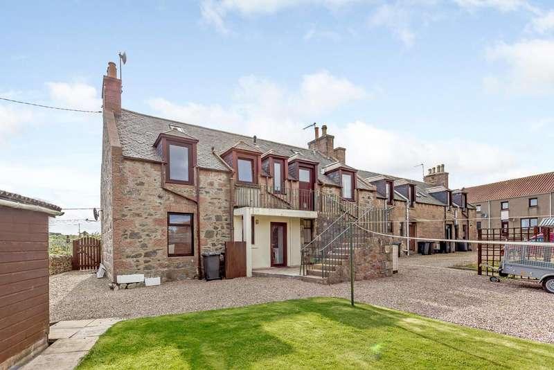 4 Bedrooms Semi Detached House for sale in Hatton Farm Road, Hatton, Peterhead AB42
