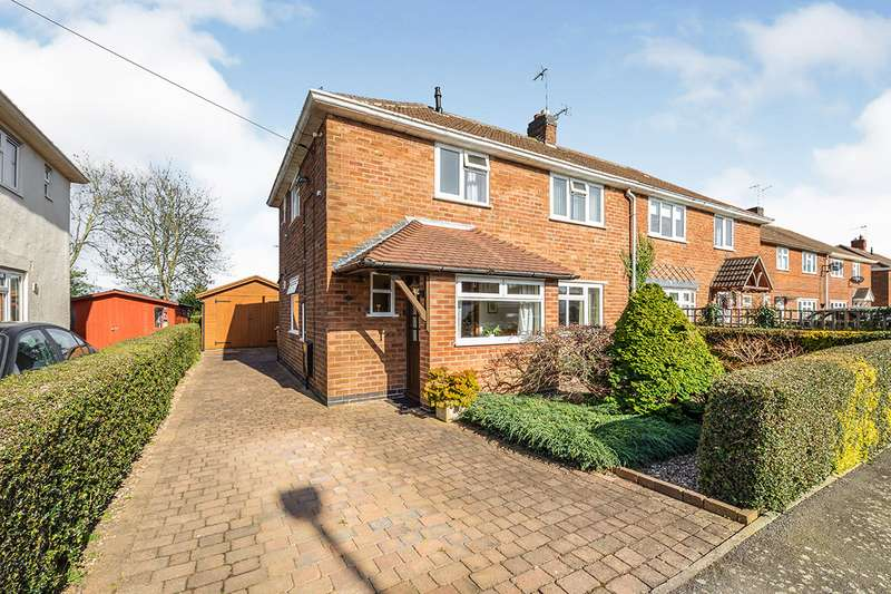 3 Bedrooms Semi Detached House for sale in Preston Drive, Newbold Verdon, Leicester, Leicestershire, LE9