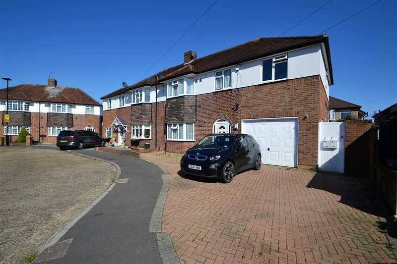 5 Bedrooms Semi Detached House for sale in Whitebridge Close, Bedfont