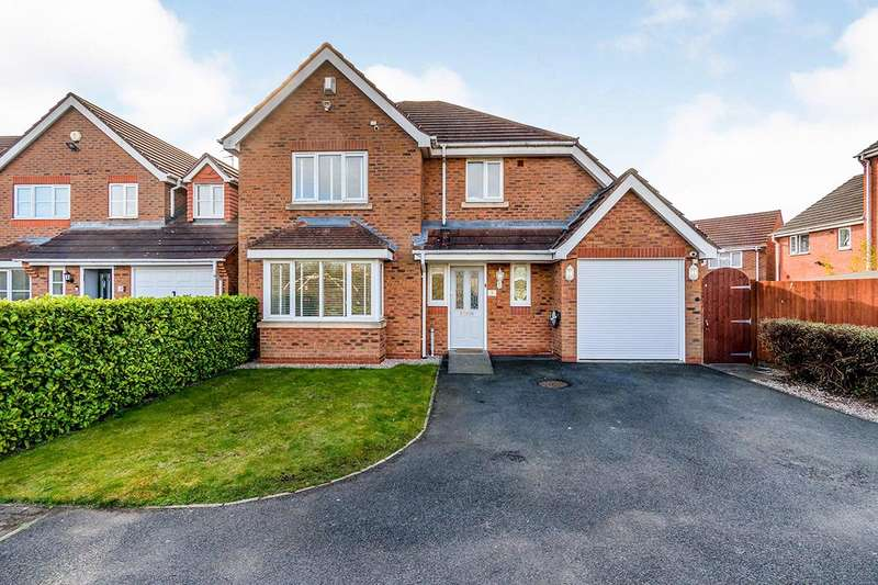 4 Bedrooms Detached House for sale in Bream Close, Wolverhampton, West Midlands, WV10