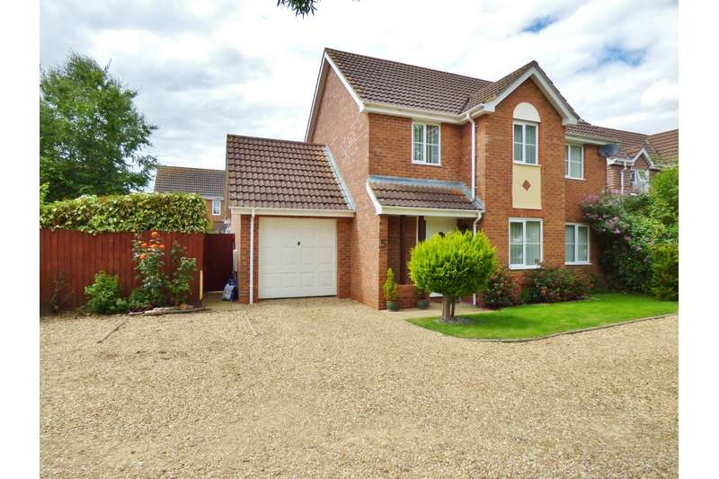 3 Bedrooms Detached House for sale in Maytime Close, Spalding, Spalding