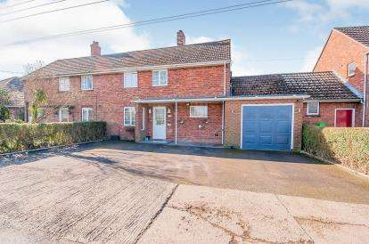 3 Bedrooms Semi Detached House for sale in West Fen Drainside, Frithville, Boston, Lincolnshire