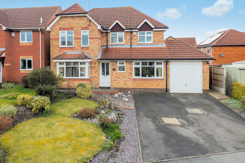 4 Bedrooms Detached House for sale in Windermere Avenue, Ashby-de-la-Zouch