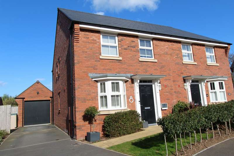 3 Bedrooms Semi Detached House for sale in Gerway Close, Ottery St Mary