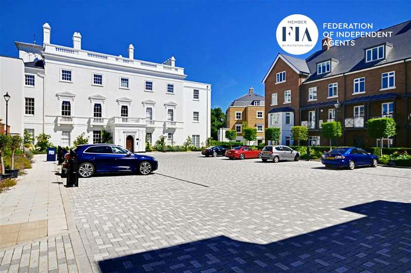 2 Bedrooms Apartment Flat for sale in Isleworth House, Fitzroy Gate, Isleworth
