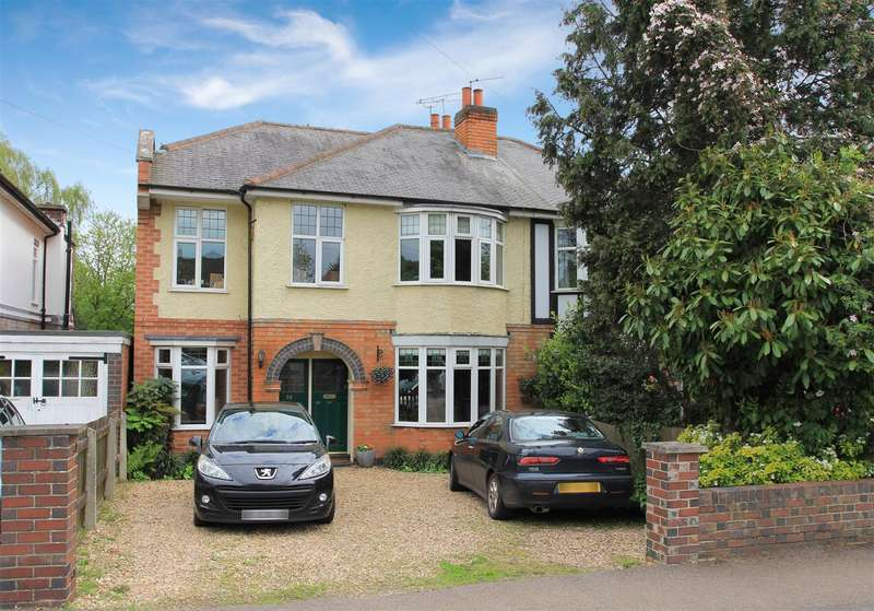 4 Bedrooms Semi Detached House for sale in Wigston Road, Oadby