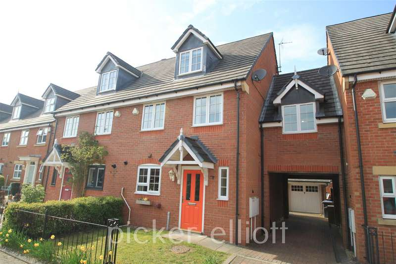 5 Bedrooms End Of Terrace House for sale in Fosse Close, Burbage