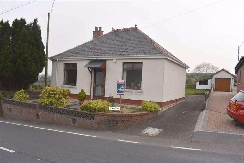 2 Bedrooms Detached Bungalow for sale in Pencader