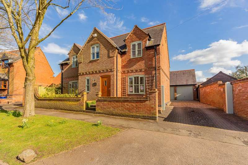 4 Bedrooms Detached House for sale in Eden House, Main Street, Mowsley