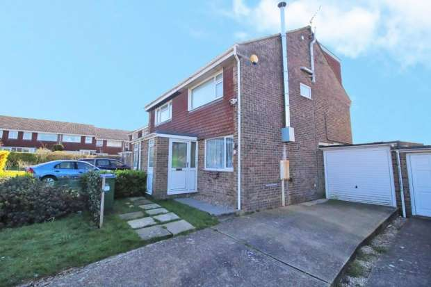 3 Bedrooms Semi Detached House for sale in Barn Rise, Seaford, East Sussex, BN25 3DB