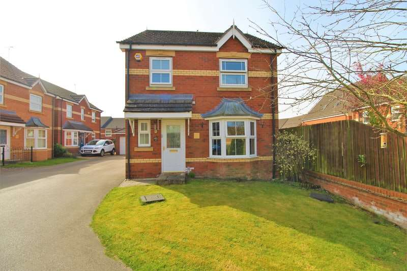 3 Bedrooms Detached House for sale in The Furlongs, Market Rasen, Lincolnshire, LN8