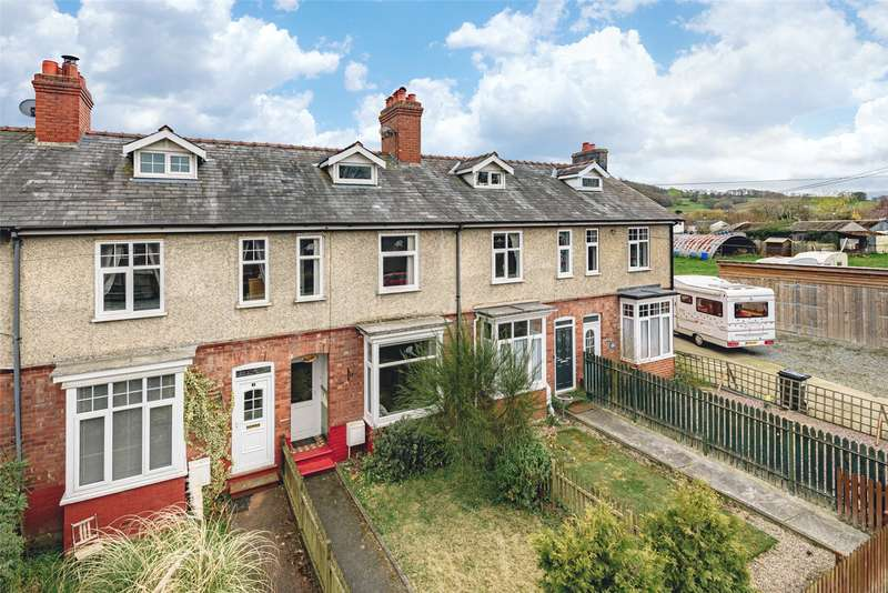 3 Bedrooms Terraced House for sale in 4 Mayfield Terrace, Llanidloes Road, Newtown, Powys, SY16 1HQ