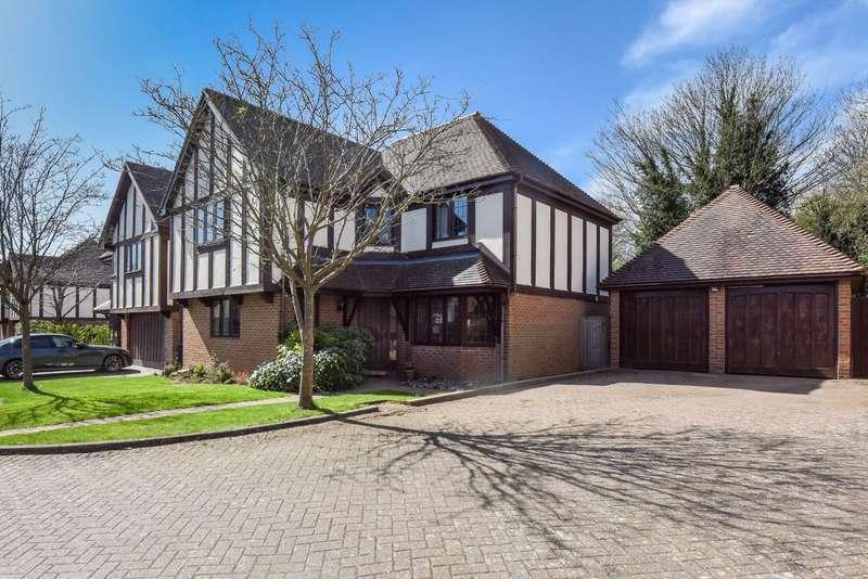 4 Bedrooms Detached House for sale in Maze Green Heights, Bishop's Stortford, Hertfordshire, CM23