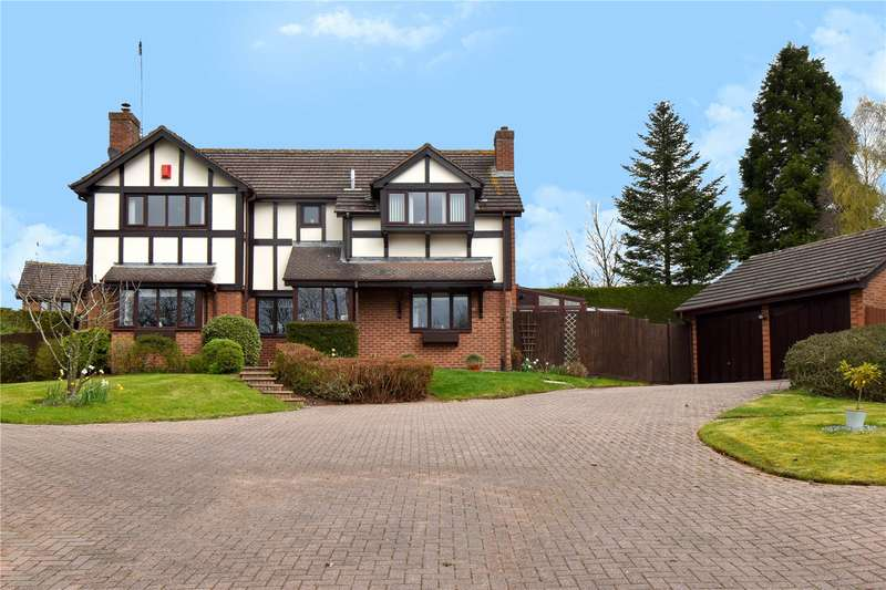 5 Bedrooms Detached House for sale in Thorncliffe Close, Callow Hill, Redditch, B97
