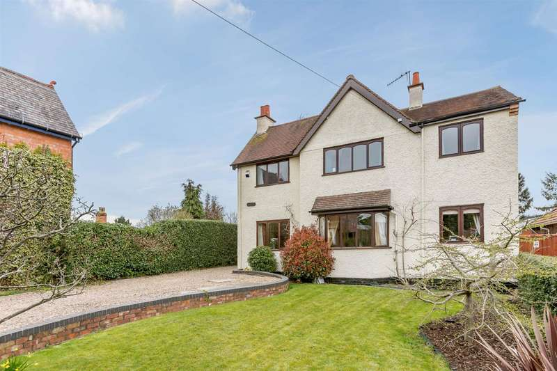 4 Bedrooms Detached House for sale in Albert Road, Bromsgrove, Worcestershire