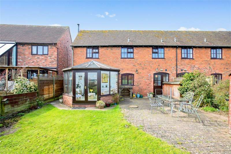 4 Bedrooms Barn Conversion Character Property for sale in Hopton House, 6 Ledwyche Court, The Sheet, Ludlow, Shropshire, SY8